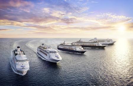 P&O Cruises Five Ship Fleet