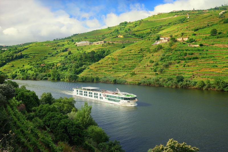 Scenic Azure, Douro Valley near Régua, Portugal