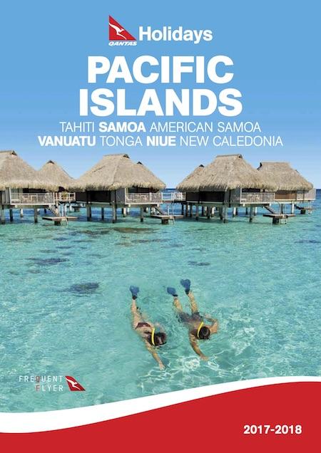 Qantas Holidays Pacific Island brochure
