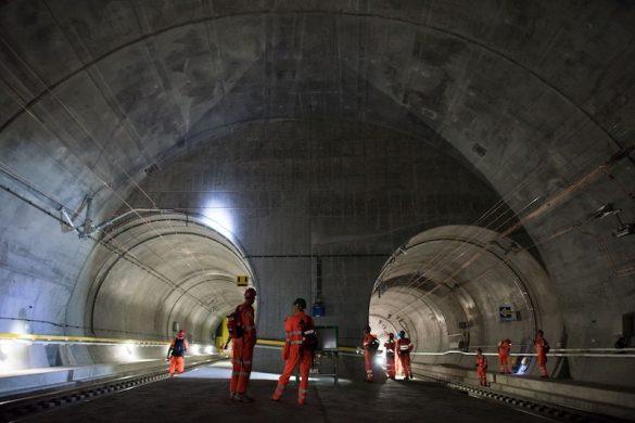 Gotthard Base Tunnel, Central Switzerland