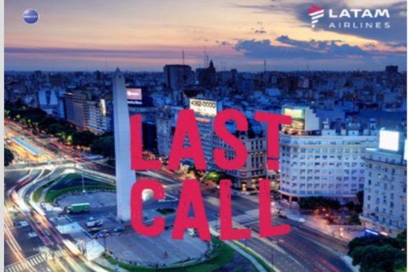 LATAM Last Call sale