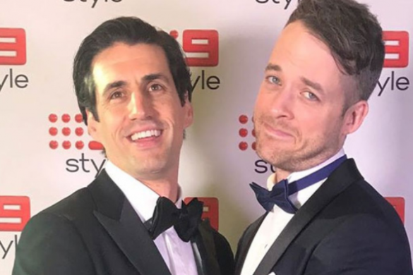 Hamish & Andy on the red carpet for the 59th Annual Logie Awards 2017