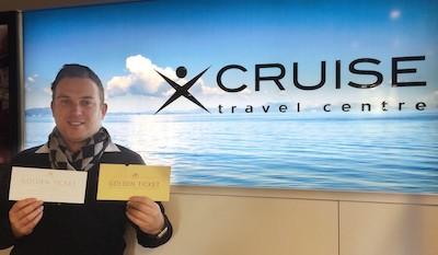 Brett Walker, Team Leader/CLIA Cruise Master, Cruise Travel Centre Hobart