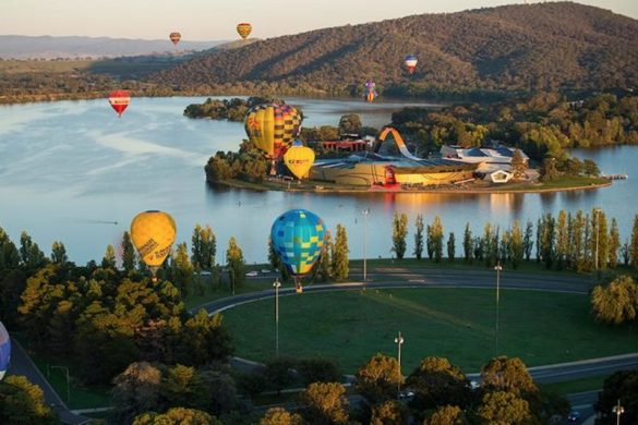 Hot air balloons Canberra