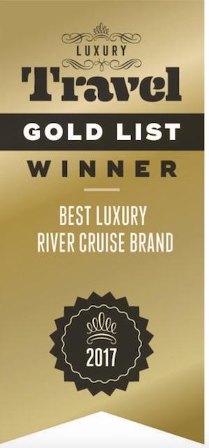 Luxury Travel Gold List winner award