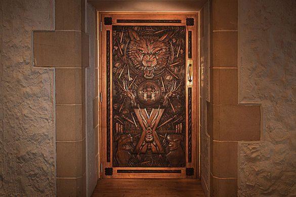 Game of Thrones door
