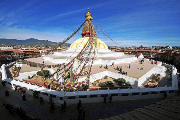 Nepal Bodhnath Stupa Kathmadu