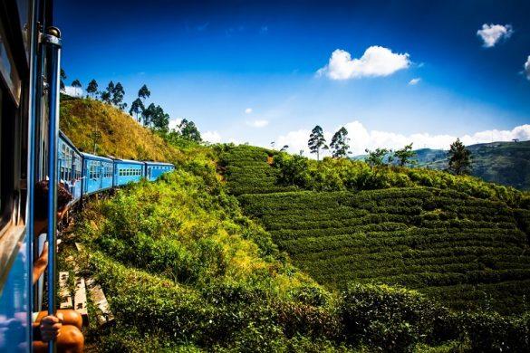 Train Kandy to Nuwara Eliya