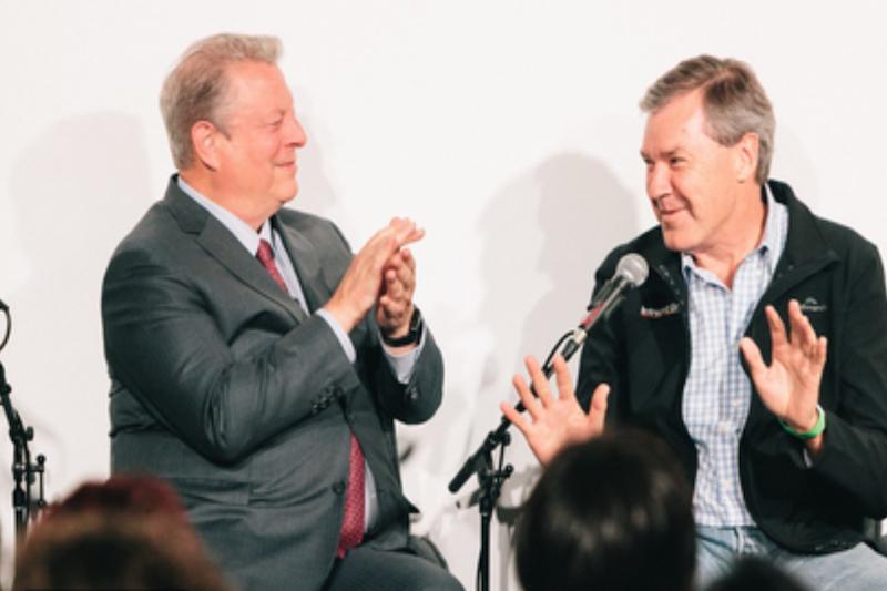 Al Gore and Intrepid Travel