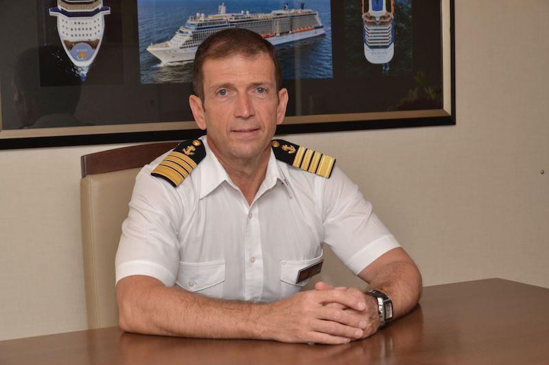 Captain Panagiotis Skylogiannis - Celebrity Reflection