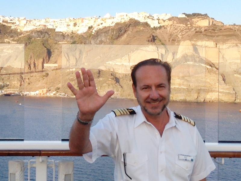 Captain Michael Karatzas - Celebrity Constellation