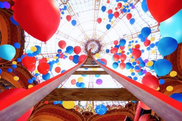 Rollercoaster - Galeries Lafayette Paris