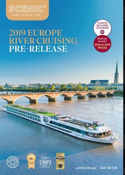 Scenic Pre-Release 2019 Europe brochure