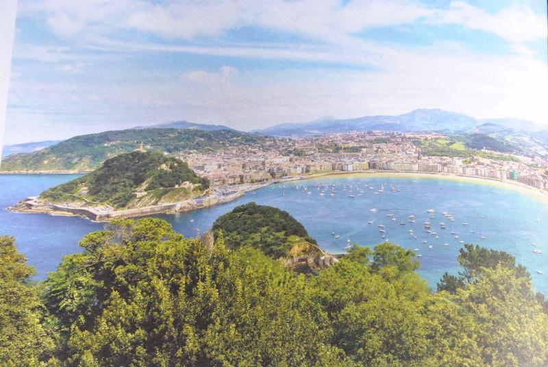 View of St. Jean-de-Luz from Corniche Basque