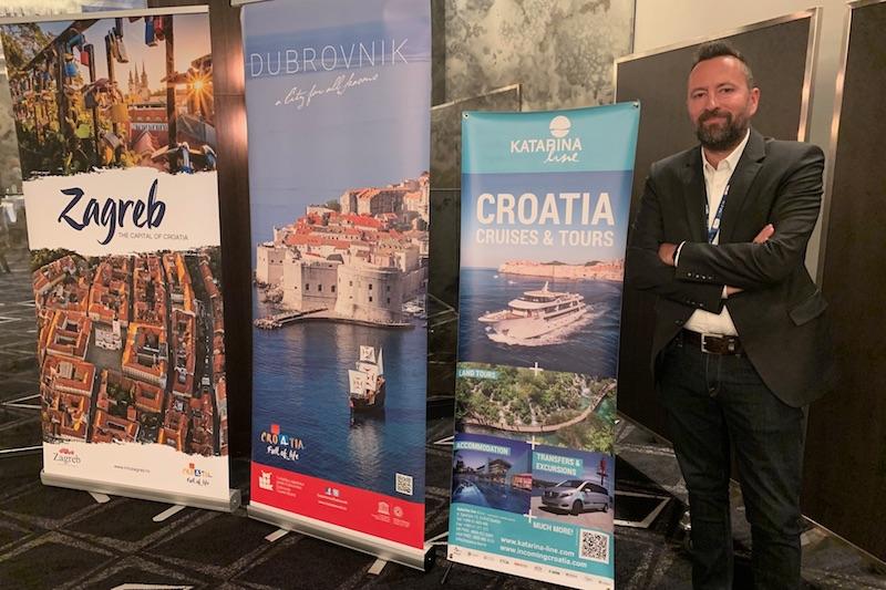 Goran Biljakovic Head of Sales & Mktg Katarina Line and Cruises Croatia