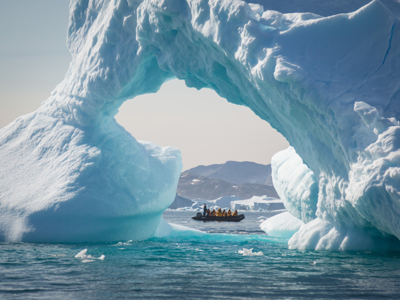 Quark Expeditions - Under the Northern Lights in Greenland/Photo: Acacia Johnson
